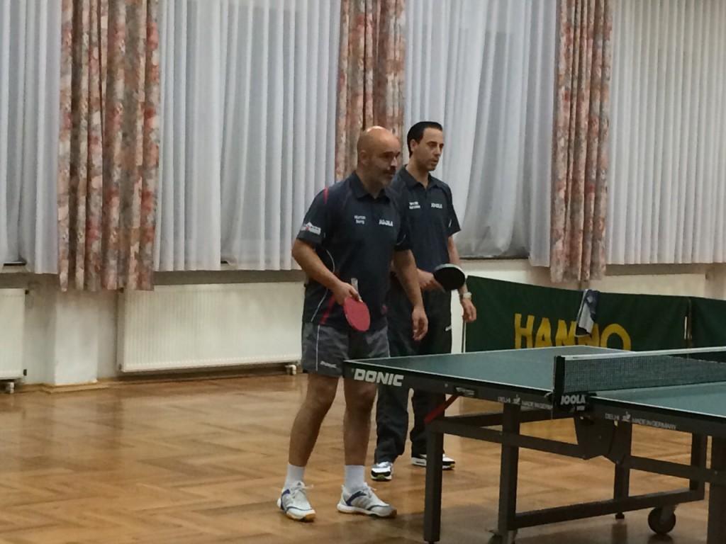 Martin und Necdet im Doppel